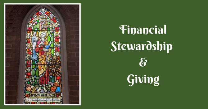 Financial Stewardship & Giving