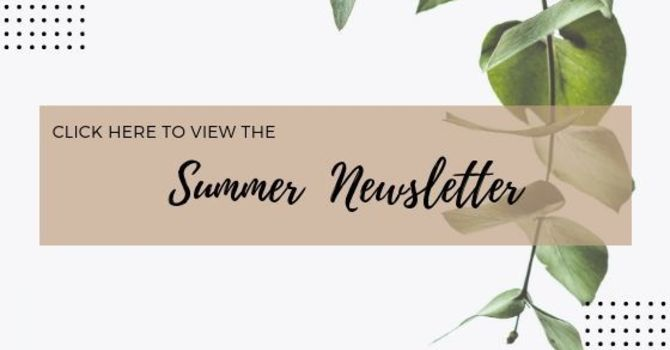 Summer Newsletter  image