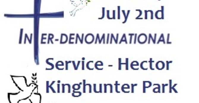 Inter-denominational Church Service - Sunday July 2nd image