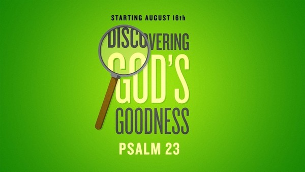 Psalm 23 'Discovering God's Goodness'