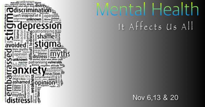 Mental Health Sermon Series image