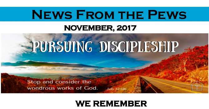 News from the Pews - November image