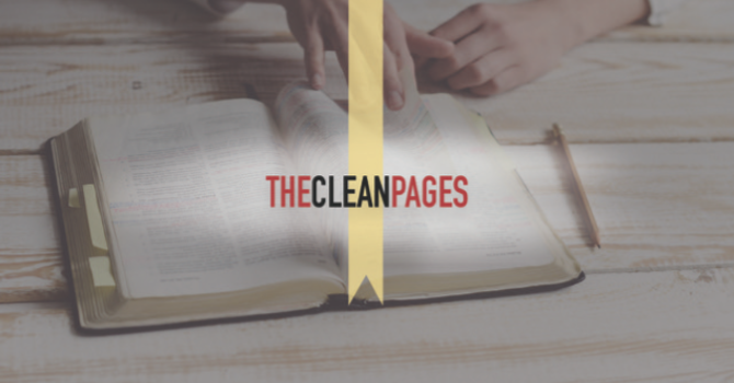 The Clean Pages:   Ephesians 6:10-18