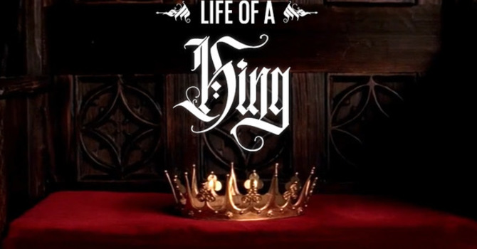 King as the anointed one