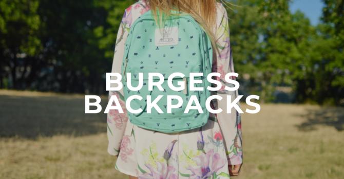 Burgess Backpacks