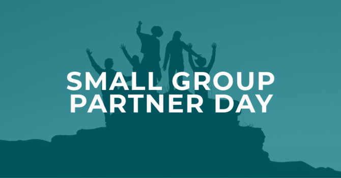 Small Group Partner Day