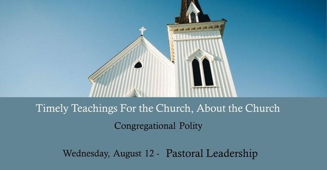 Pastoral Authority 1