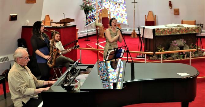 Clare Twiddy Trio at Jazz Vespers