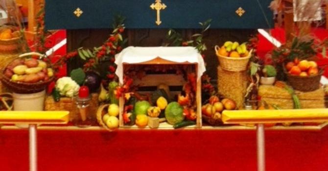 2015 Thanksgiving display