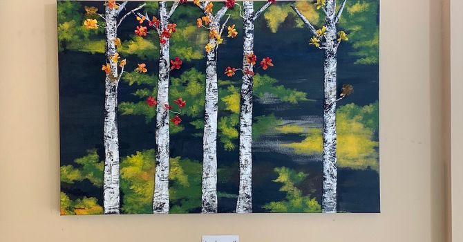 Christie Norman-Taal's Art Displayed in September & October image