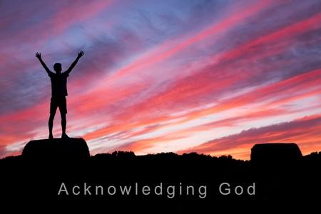 Acknowledging God