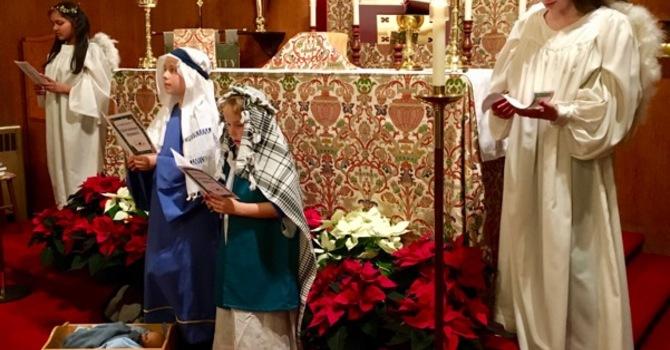 """Children of the Parish Lead """"Silent Night"""" image"""