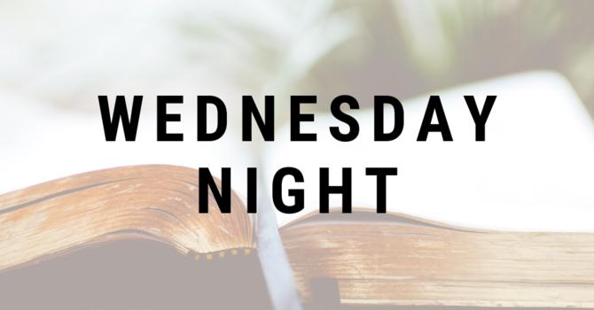 Wednesday Night Dinner & Study