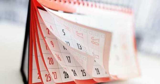 June Calendar image