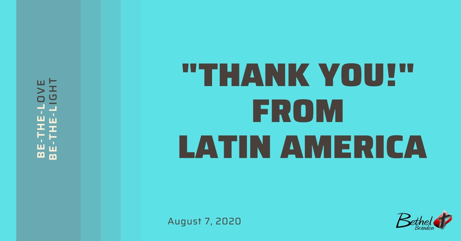 "A ""Thank You!"" From Latin America image"