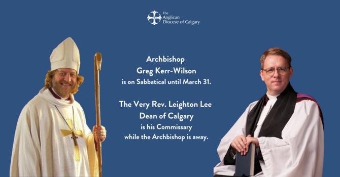 The Archbishop's Sabbatical image