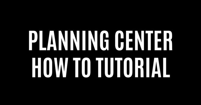 Planning Center image