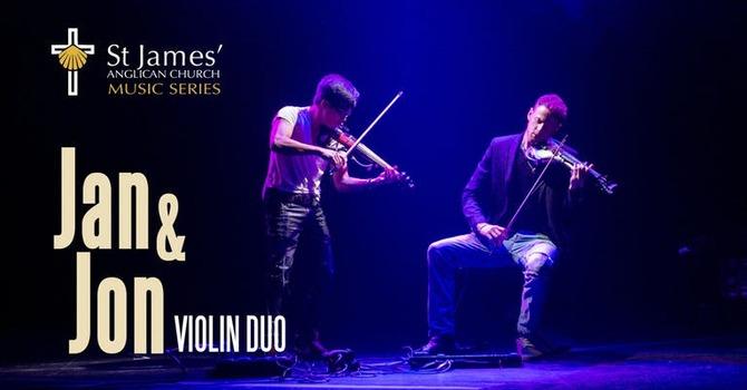 Jan & Jon Violin Duo | November 18, 2018 image