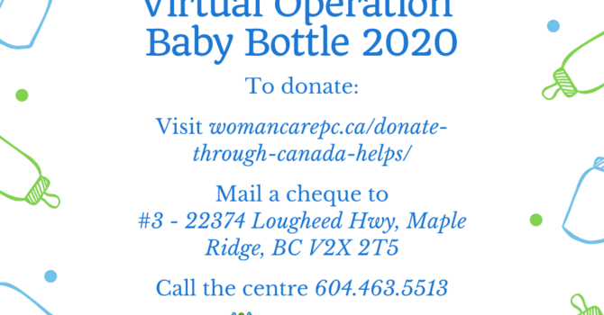 Operation Baby Bottle 2020 image