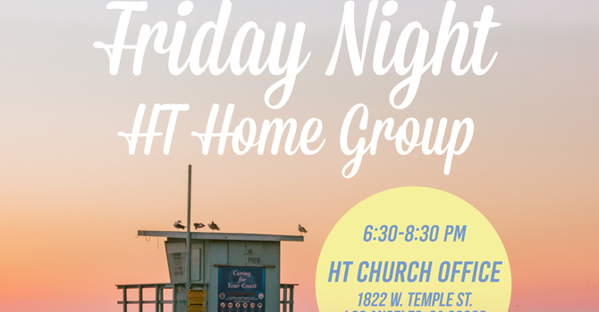 Friday Night HT Home Group