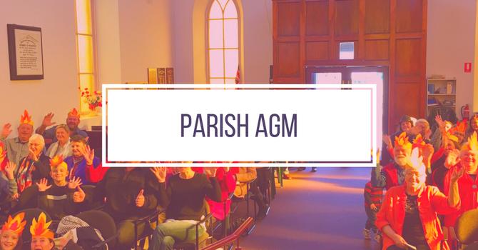 Parish AGM Sunday Sept 30