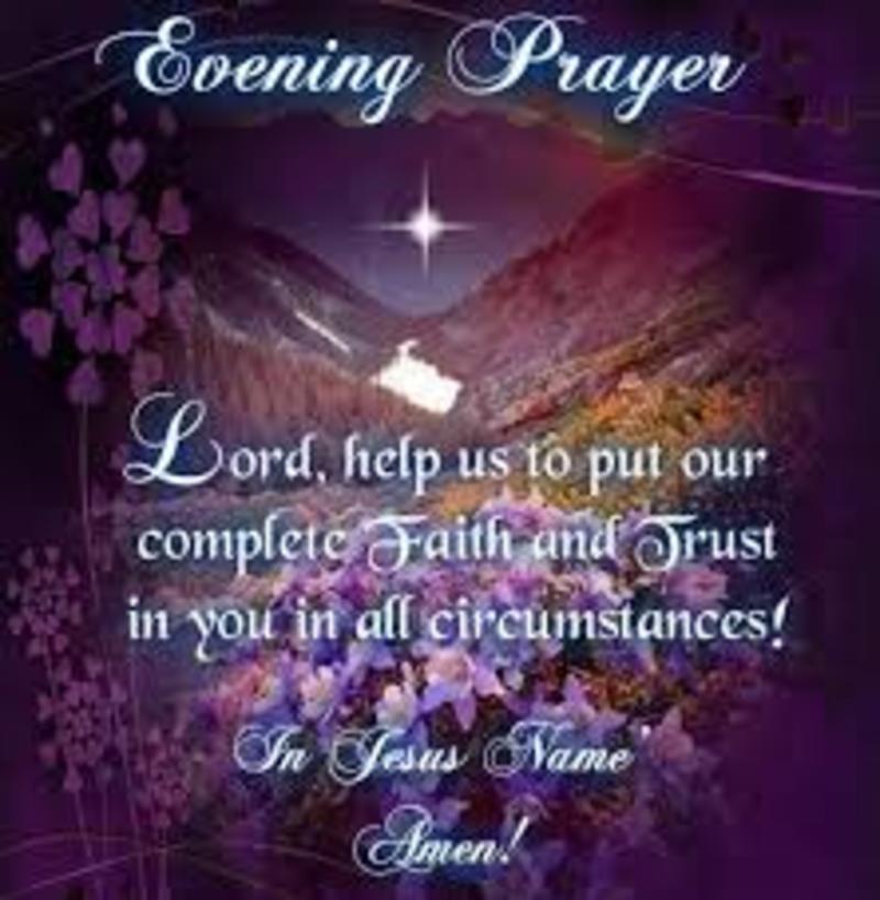 Evening Prayer Series 2
