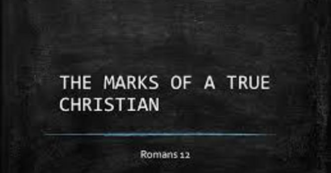 Marks of A Christian 8