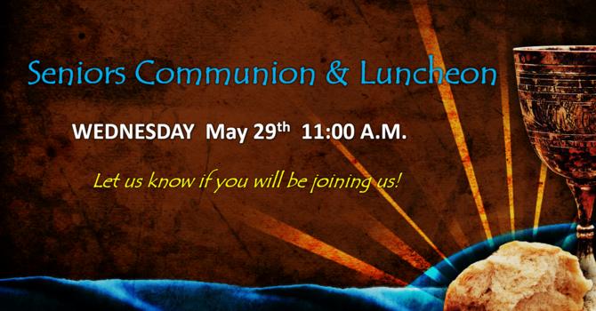 Seniors Communion & Luncheon image