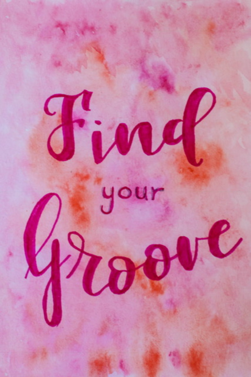 Finding Your Groove