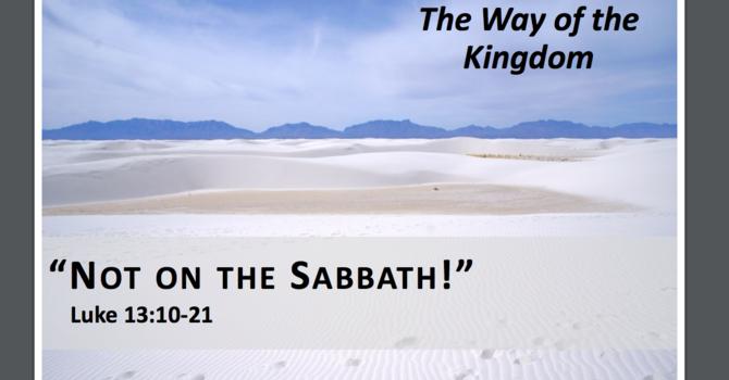 Not on the Sabbath