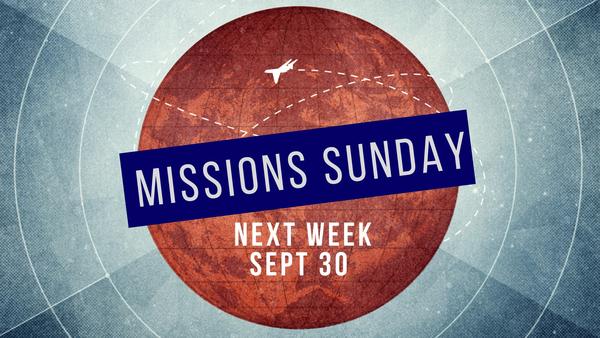 Missions' Sunday