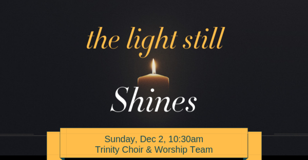 Trinity Choir & Worship Team Christmas 2018