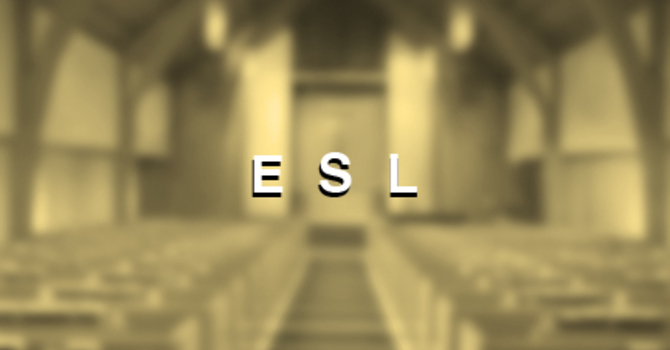 ESL Spring Term 春季班 - April 3 image