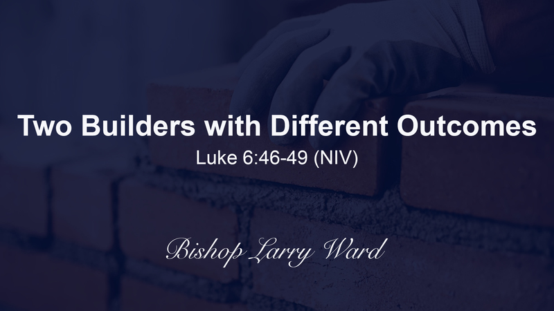 Two Builders with Different Outcomes