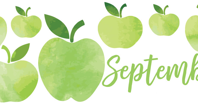 September Newsletter and Birthday Calendar image