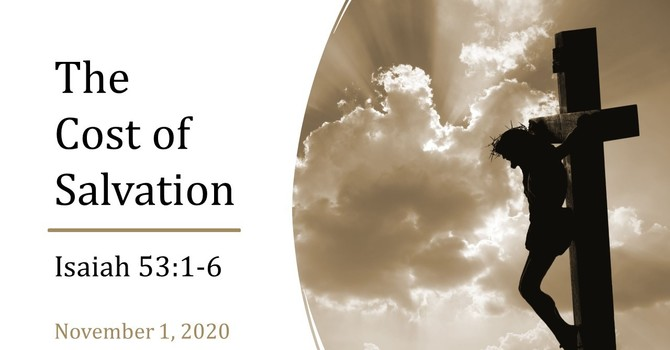 The Cost Of Salvation