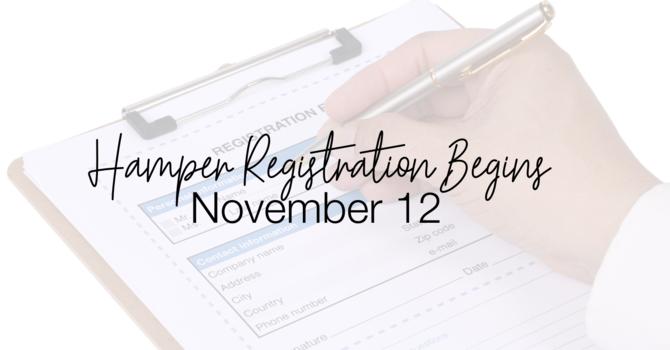 Hamper Registration  image
