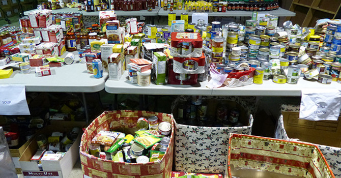 Food Drives to Boost Cloverdale Hamper Program Appeal image