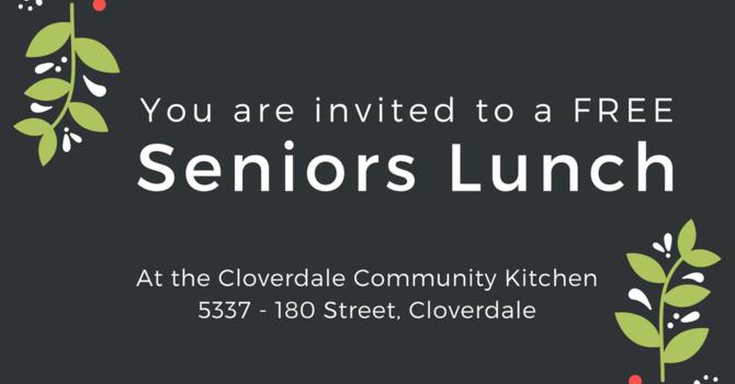 Seniors Lunch ~ Nov 16 @12PM image