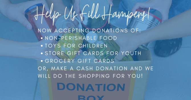 Christmas Hamper Program Now Collecting Donations  image