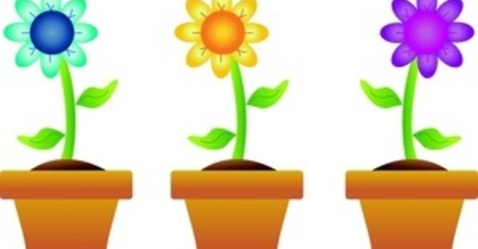 Plant, Garage & Bake Sale image