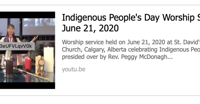 NATIONAL INDIGENOUS PEOPLES' SUNDAY