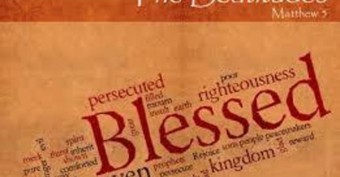 The Gospel of Matthew 5:1-12 image
