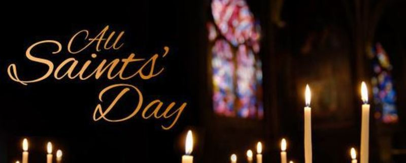All Saints Sunday November 1, 2020