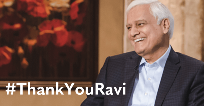 Lessons I Have Learned from Ravi Zacharias' Faith image