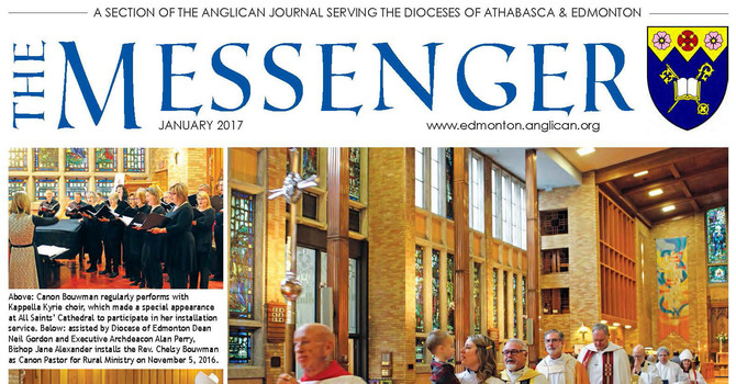 The Messenger January, 2017 image
