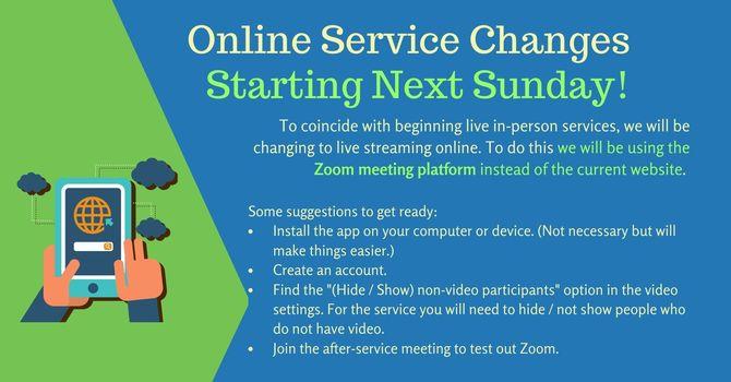 Zoom Live Stream image