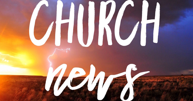Church News!  image