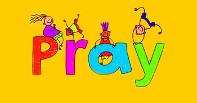 Praying For & With Children image