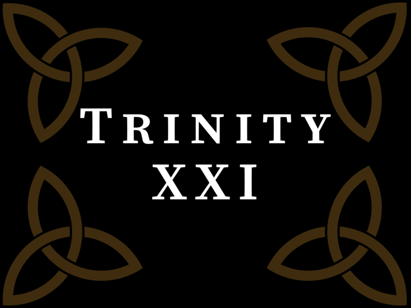 All Saints Day/Trinity XXI 2020, 10:00 A.M.